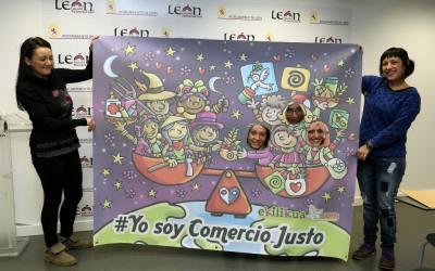 León es reconocida por su trabajo en sensibilización y comunicación del Comercio Justo y responsable
