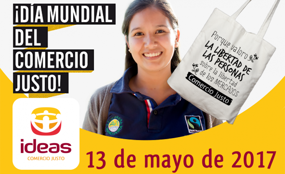 Celebra el Día Mundial del Comercio Justo con IDEAS el próximo 13 de mayo
