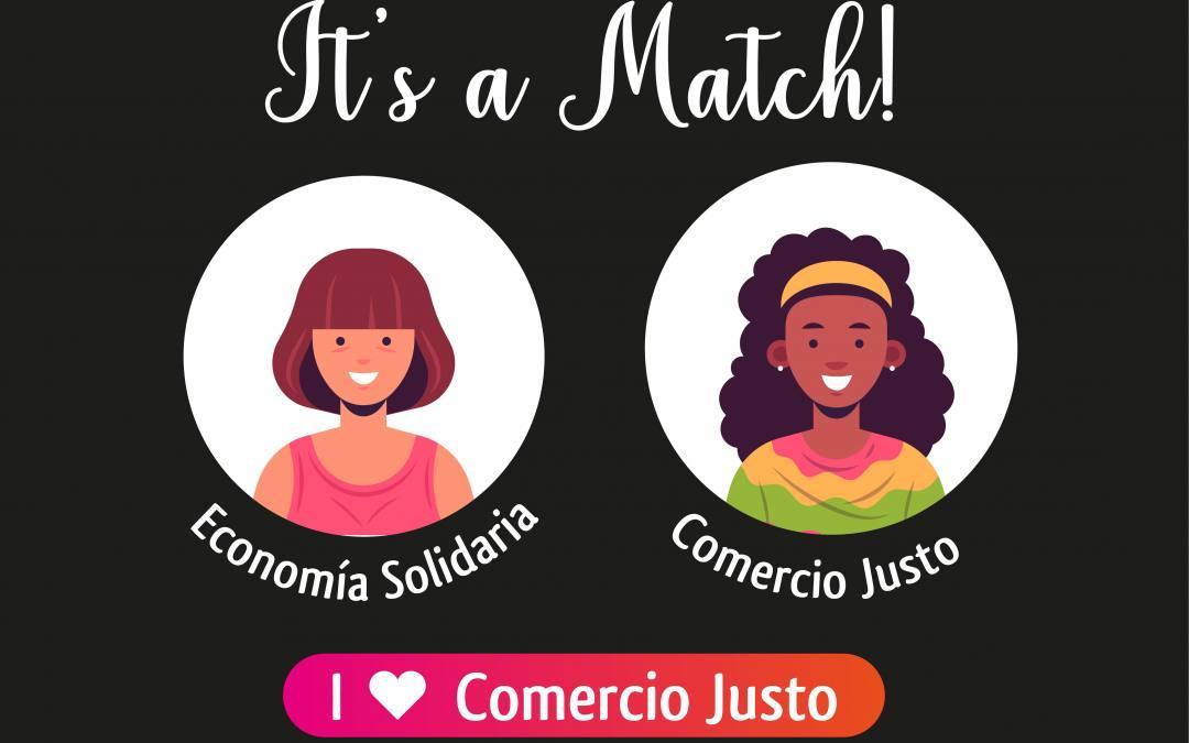 Estas Navidades, ¡haz un match con el Comercio Justo y la Economía Solidaria!