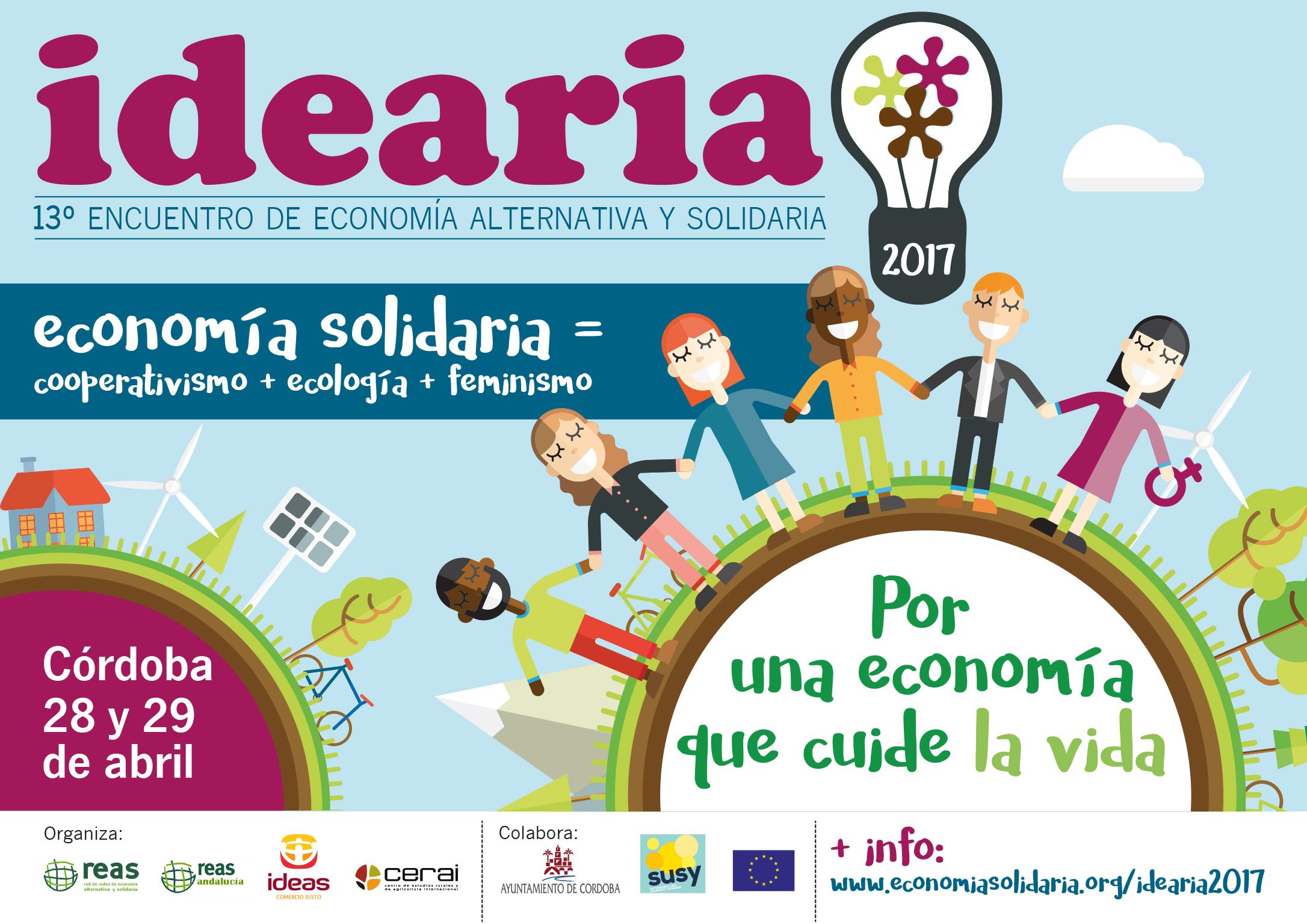 La economía feminista centrará la 13ª edición de IDEARIA en Córdoba