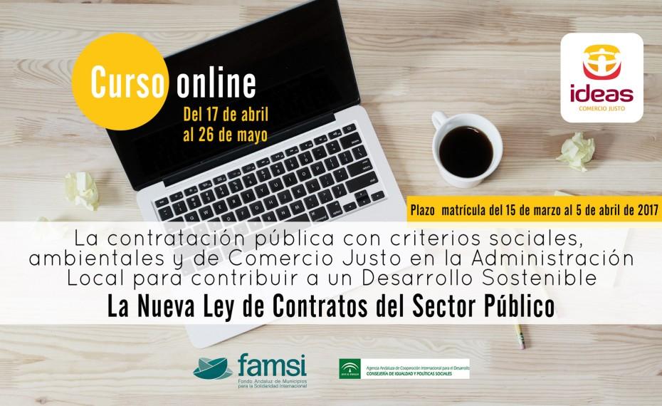 Nuevo Curso de Contratación Pública Responsable impartido por IDEAS y FAMSI