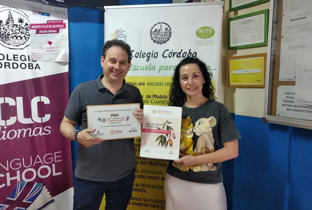 Terminamos el proyecto Centros Educativos por el Comercio Justo en Córdoba