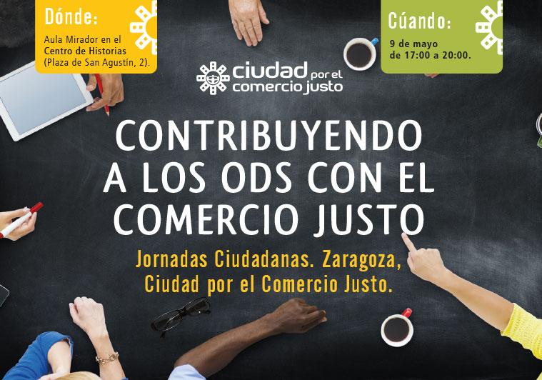 Jornadas ciudadanas sobre Comercio Justo en Zaragoza