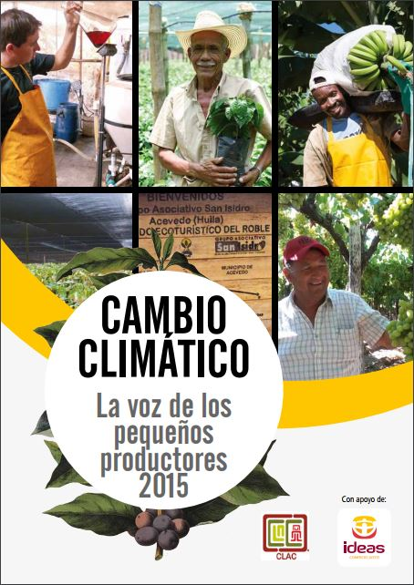 Portada del informe: Cambio climático