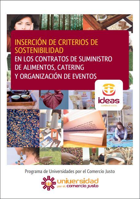 Portada: Compra pública sostenible de alimentos para catering y eventos