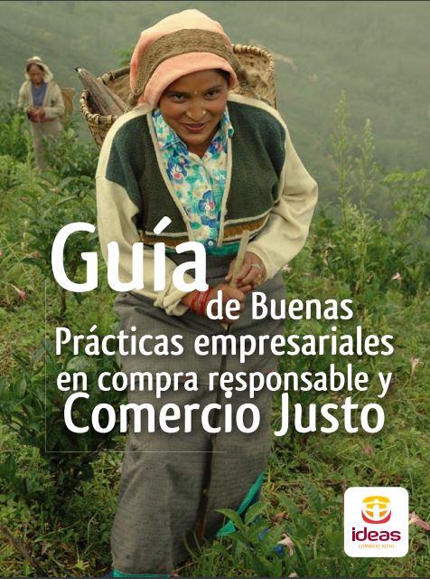 Portada: Guía de buenas prácticas empresariales en compra responsable y comercio justo