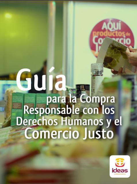 Portada: Guía para la compra responsable con los derechos humanos y el comercio justo