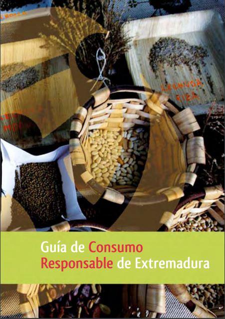 Portada: Guía de consumo responsable en Extremadura