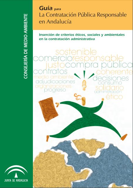 Portada: Guía para la contratación pública responsable en Andalucía