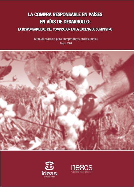 Portada: Manual de compra responsable en países en vías de desarrollo