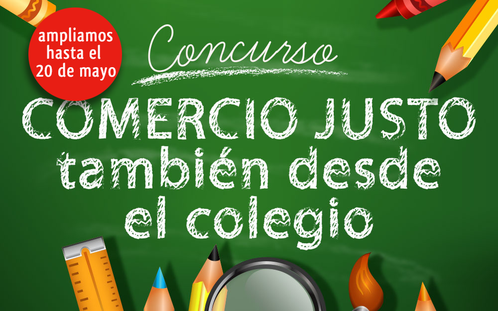 Los centros educativos se implican en el concurso Comercio Justo desde el cole
