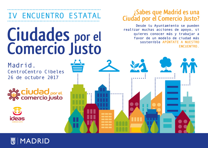 Madrid acoge el IV encuentro de Ciudades por el Comercio Justo