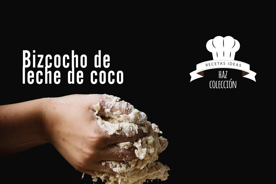 Receta bizcocho de leche de coco