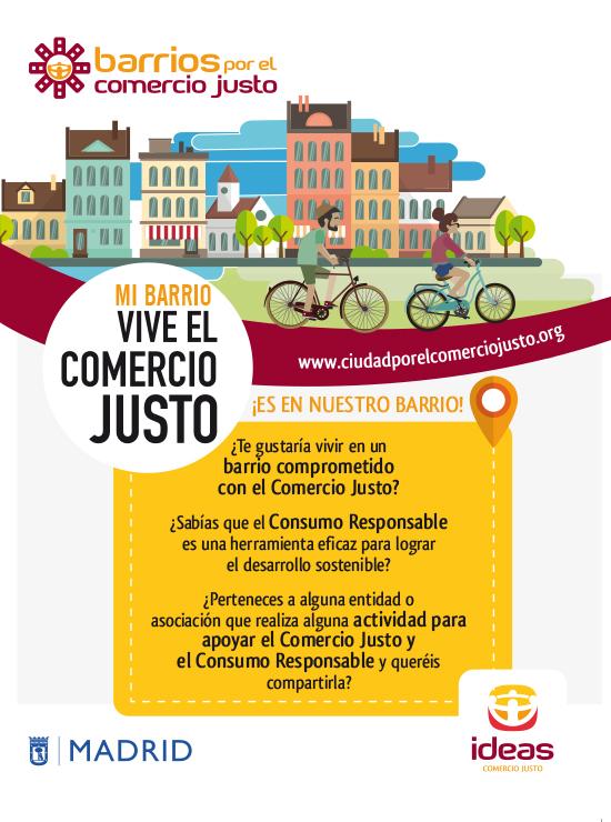 Los barrios cordobeses y madrileños se movilizan por el Comercio Justo