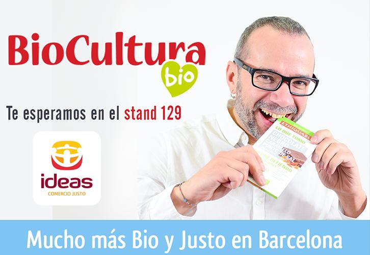 Nos vamos a Biocultura Barcelona.