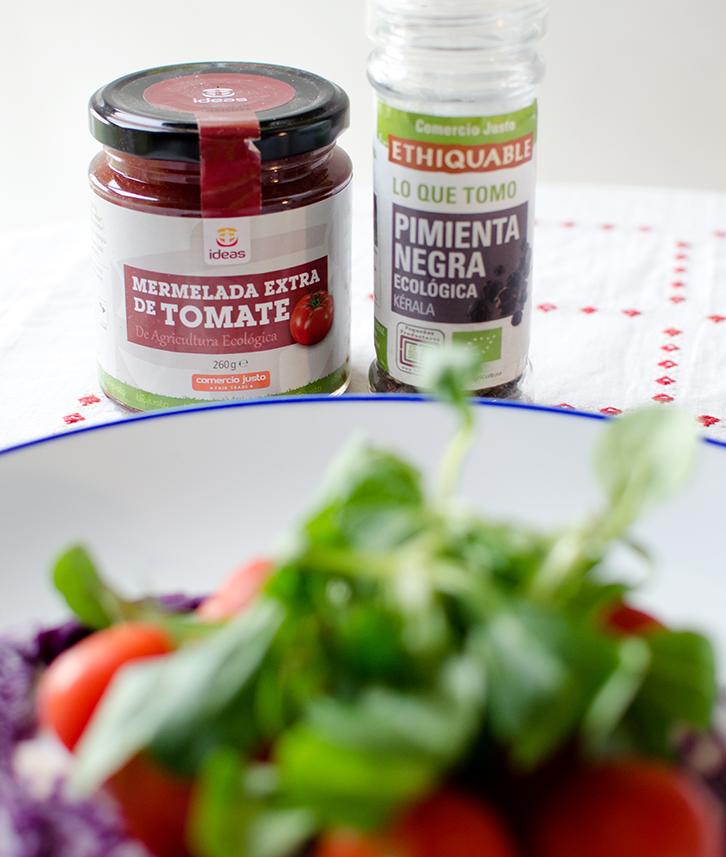 Mermelada de tomate para tus ensaladas