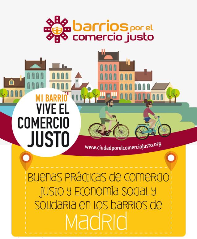 Te presentamos la guía de buenas prácticas de Comercio Justo y Economía Social en  3 barrios madrileños