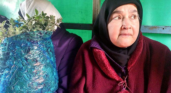 Mujeres productoras de zaatar en Palestina