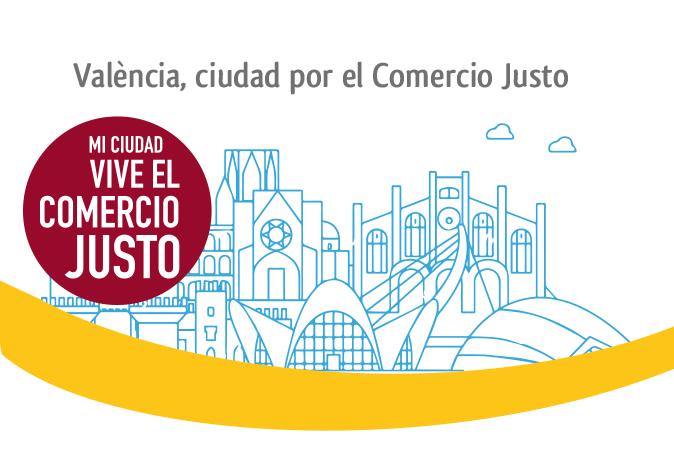 València recibe la distinción de ciudad por  el Comercio Justo