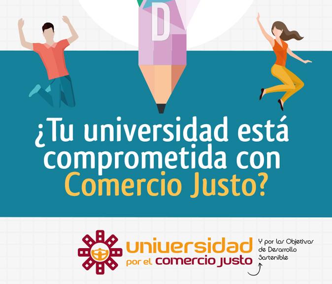 Las Universidades españolas están con el Comercio Justo y los ODS