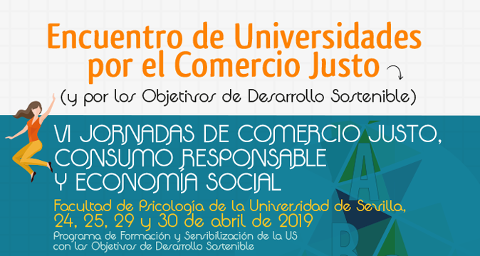 Las Universidades por el Comercio Justo se citan en Sevilla