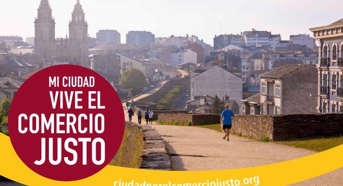 Lugo ciudad por el Comercio Justo