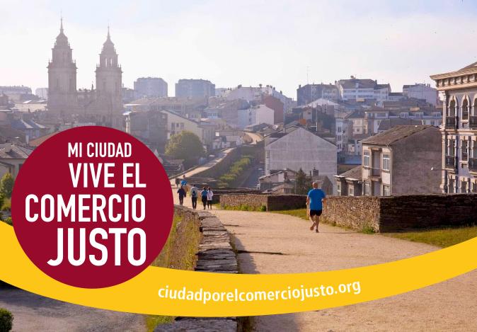 Lugo recibe el título de ciudad por  el Comercio Justo
