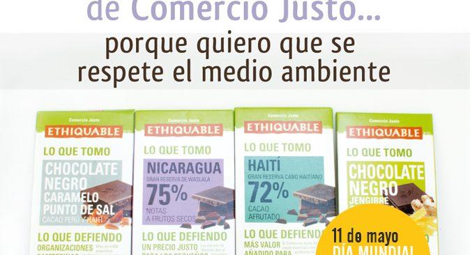 11 de mayo DÍA MUNDIAL DEL COMERCIO JUSTO