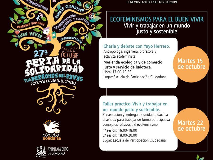 Ecofeminismos en la 27ª Feria de la Solidaridad de Córdoba