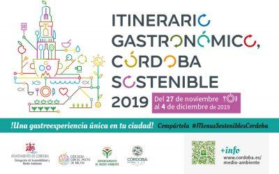 28 establecimientos han participado en el Itinerario Gastronómico Córdoba Sostenible 2019