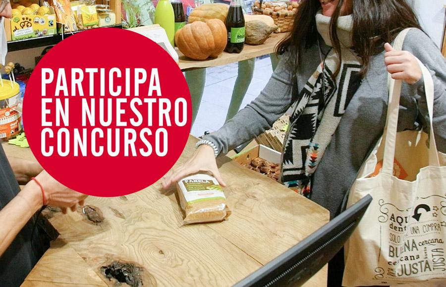 Lanzamos un concurso en redes sociales para promocionar el Comercio Justo en los barrios de Madrid