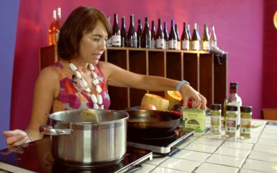 Video receta de mole con alboronia cordobesa