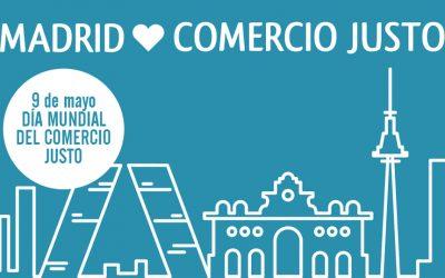 Los barrios madrileños celebran el Día Mundial del Comercio Justo desde casa