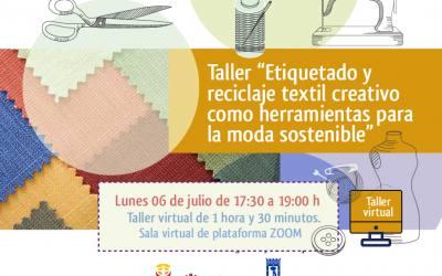 Etiquetado y reciclaje textil creativo como herramientas para la moda sostenible