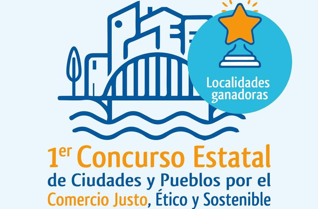 Reconocidas 4 localidades por su compromiso con el Comercio Justo y el Consumo Responsable