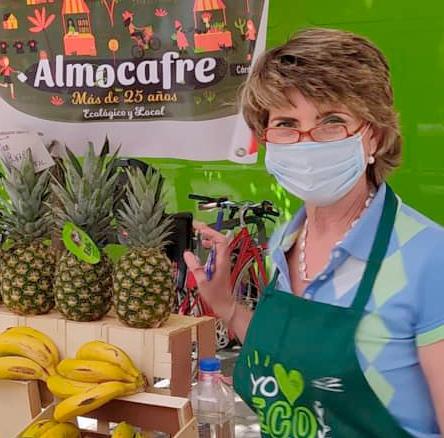 Carmen, gerente de una cooperativa de alimentación