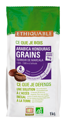 Catálogo de productos de Comercio Justo y Agricultura Ecológica