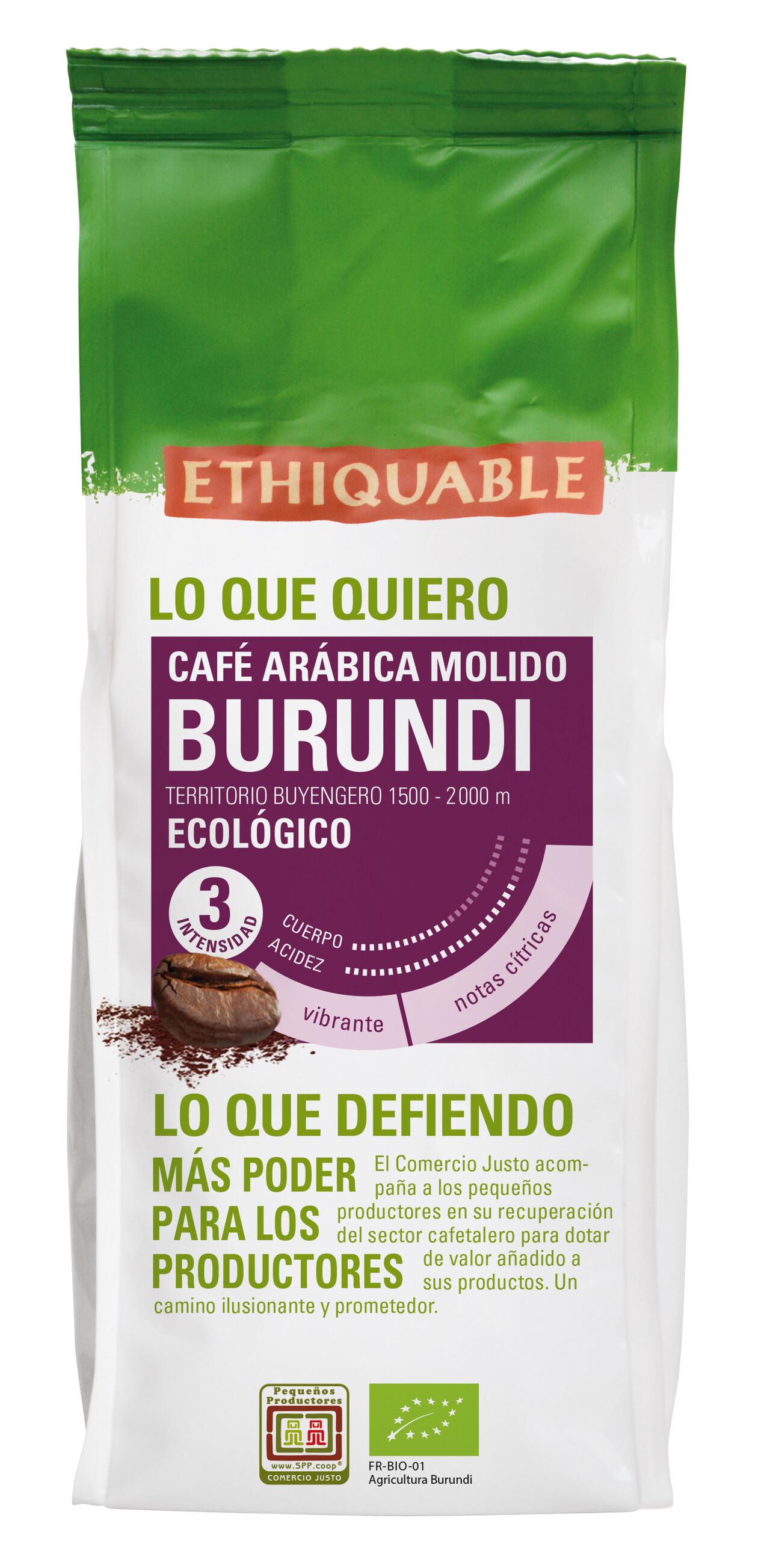 Café de Comercio Justo Burundi